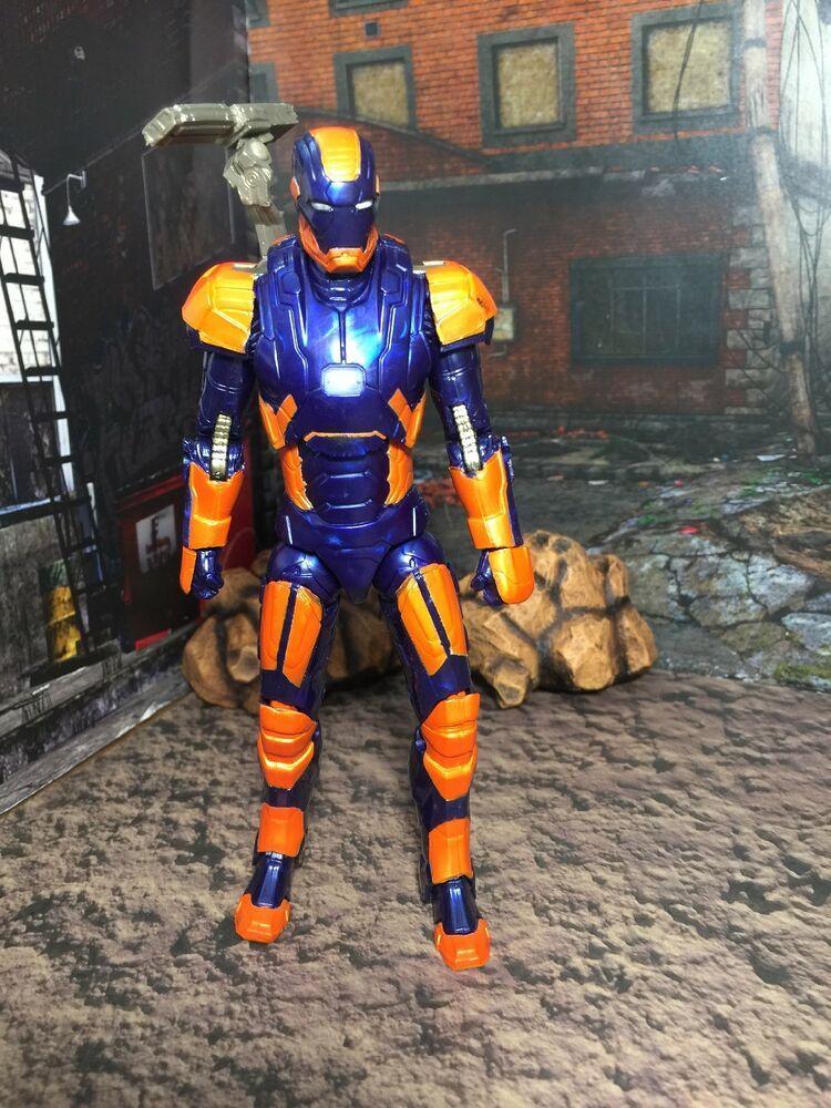 Marvel Legends Iron Man Mark 27 Disco Target Exclusive Civil War War Machine Iron Man Marvel Legends War Machine
