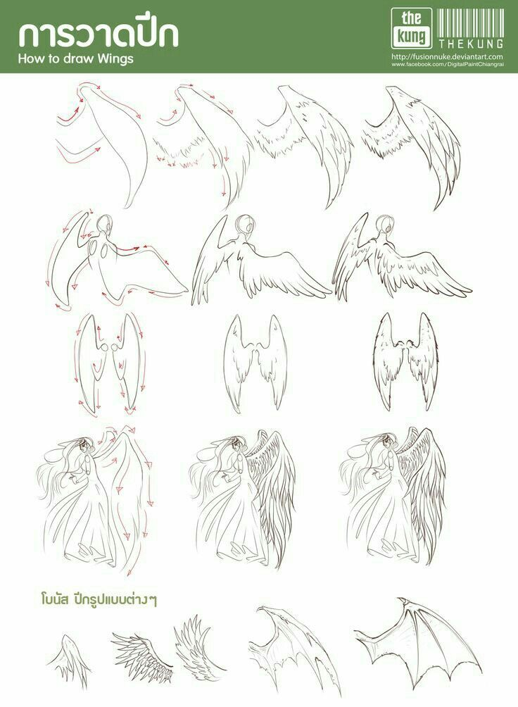 How To Draw Wings Text How To Draw Manga Anime Wings Drawing Art Reference Drawings