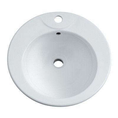 Vasque A Encastrer Prima 48cm Blanche Allia Vasque A Encastrer Vasque Habitat