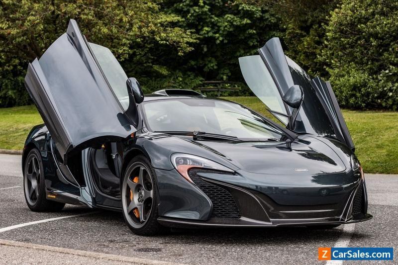 Car for Sale 2015 McLaren 650S Le Mans