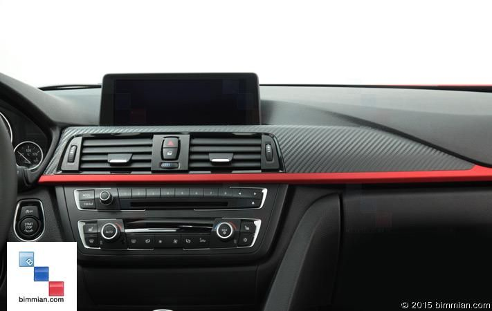 Cover Your Dash Trim For A New Sporty Look F30 Shown Carbon