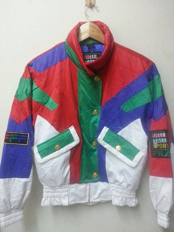 Sale Awesome Vintage 80s 90s Fila Bella Italia by SuzzaneVintage