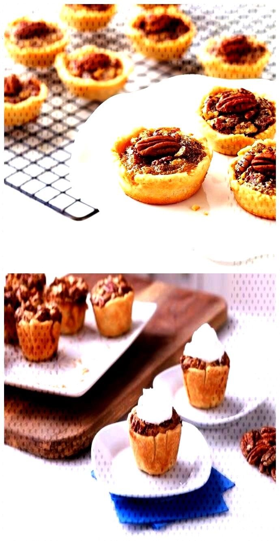 Mini Maple Pecan Pies Mini Maple Pecan Pies,