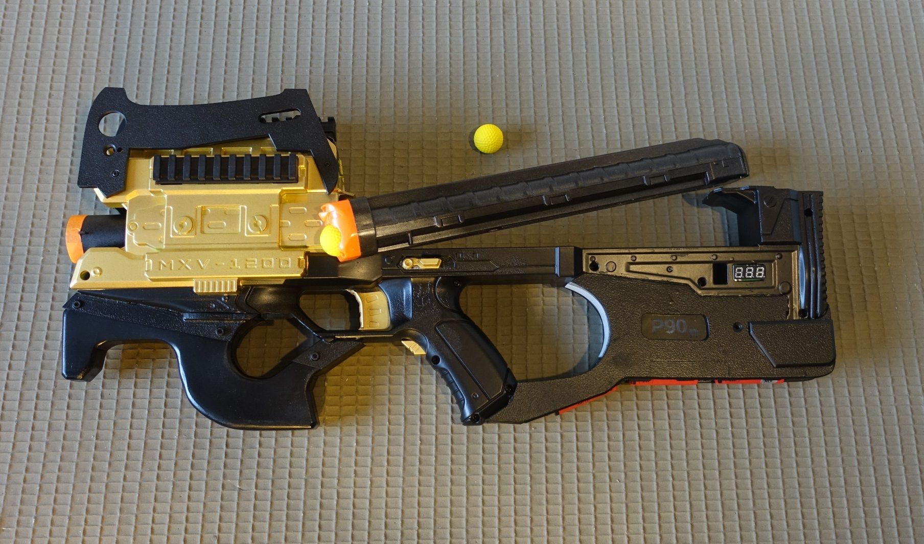 Craft · Nerf P90 former Rival Zeus