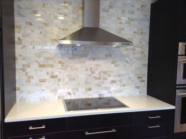 Calacatta Gold Marble Backsplash   Kitchens Forum   GardenWeb Backsplash