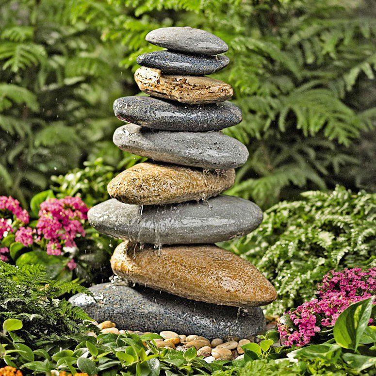 stein gartenbrunnen: 17 ideen für echten gartenhingucker | deko, Garten und erstellen