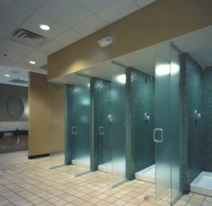 Gym Bathroom Designs Awesome Shower Power And Beyond  Locker And Restroom Design Continues To Inspiration
