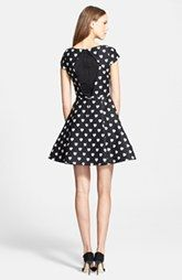 Alice + Olivia 'Amor' Fit & Flare Dress