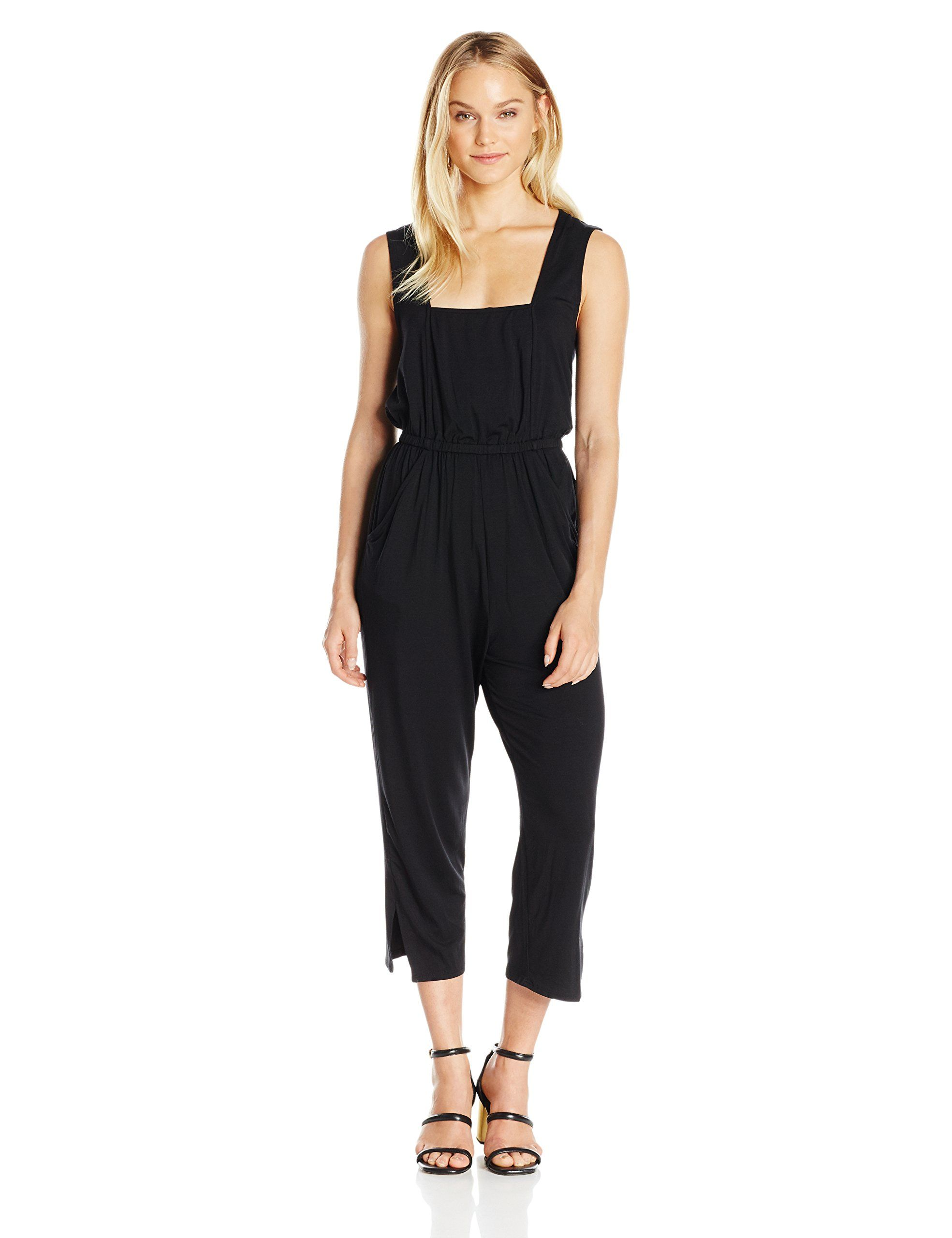a0c1af67130 Rachel Pally Womens Denny Jumpsuit Black M    To watch better for this  thing