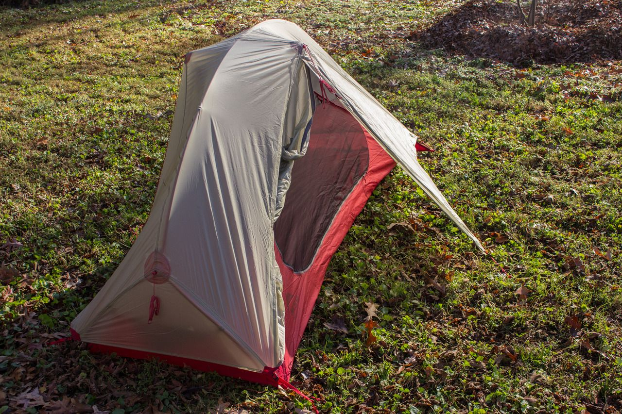 Ultralight Bikeng Tent Msr Freelite 1 Review
