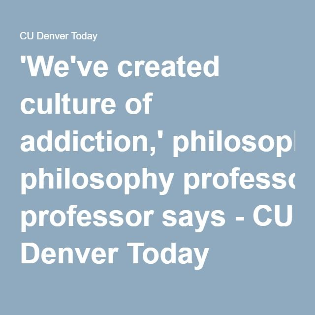 the definition and philosophy of addiction Understanding the disease of addiction & the process of recovery for healthcare clinicians and staff presented by john g gardin ii, phd, acs chief clinical officer, adapt, inc/southriver chc  basic definition.