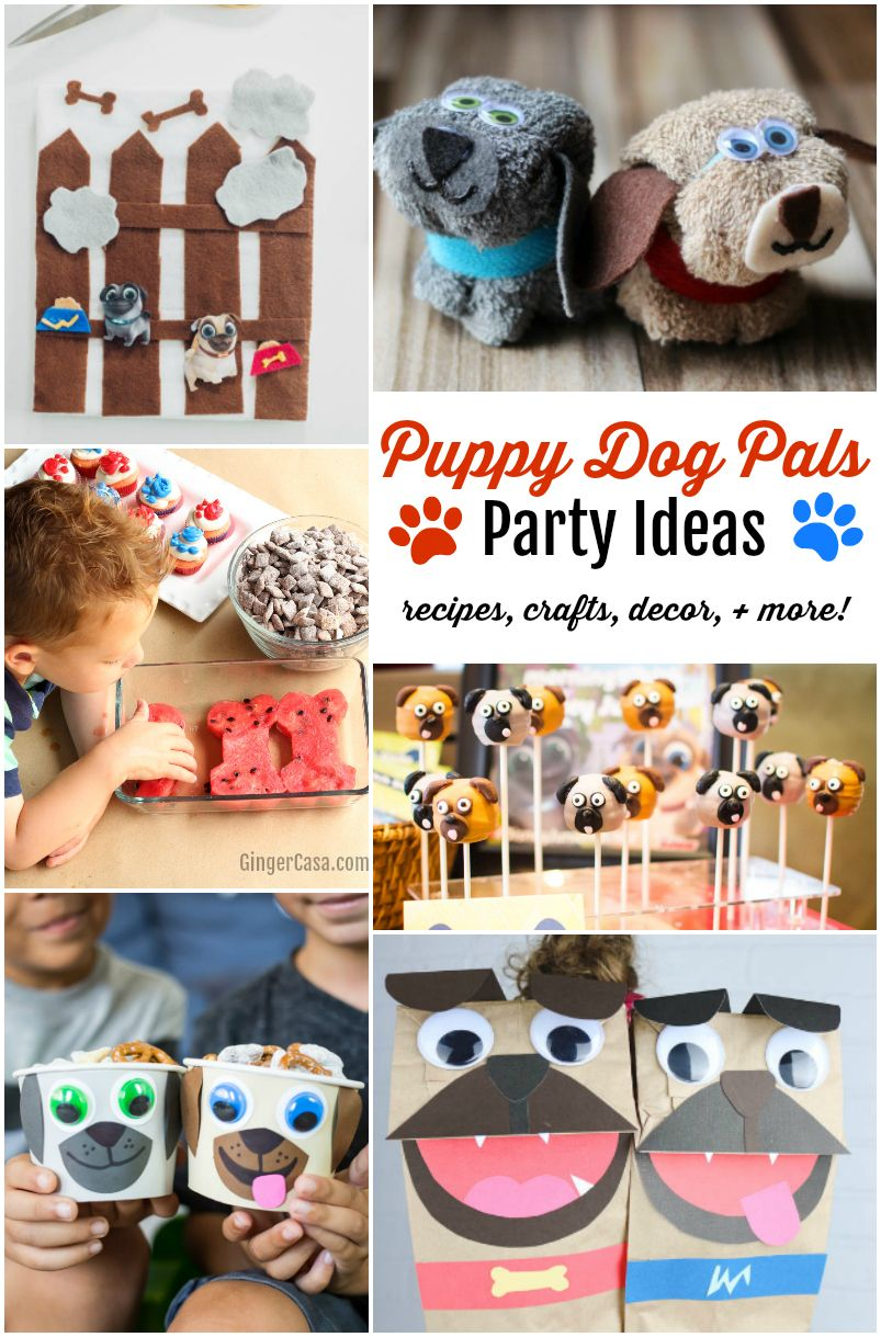 Do You Have Kids Who Love Puppy Dog Pals On Disney Junior Throw A Fun Puppy Dog Pals Puppy Birthday Parties Dog Themed Birthday Party Puppy Party Decorations