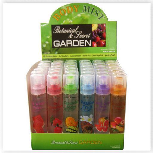Sheniko | www.sheniko.com | Fashion Outlet, Hair Accessories, Beauty, Womens Clothing - Secret Garden Body Mist (1pc), 1.99 (CAD) $ (http://www.sheniko.com/secret-garden-body-mist-1pc/)