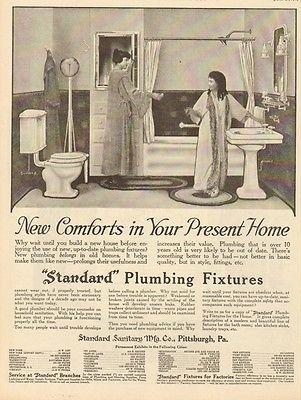 Bathroom Fixtures Pittsburgh 1919 standard plumbing fixtures pittsburgh pa pennsylvania bath