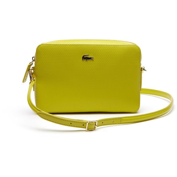 8412943af9f62c Lacoste Women`s Chantaco Leather Crossover Bag - Square Format ( 215) ❤  liked
