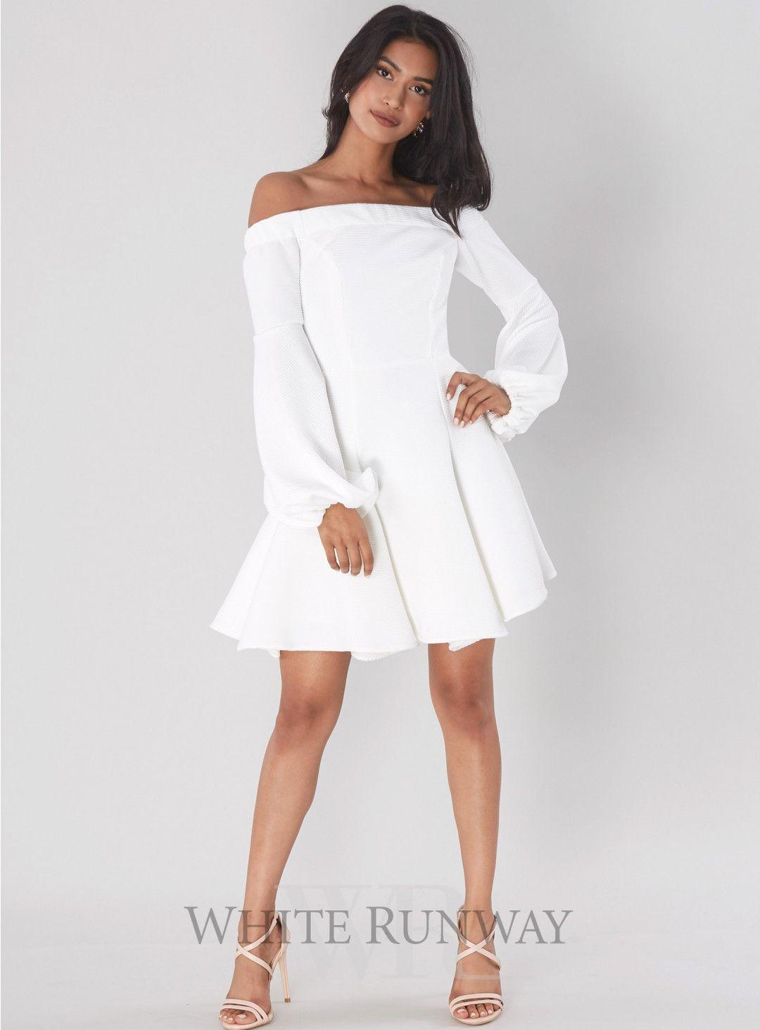 Mini white wedding dress  Lori Ots Mini Dress A gorgeous mini dress by Shona Joy An off