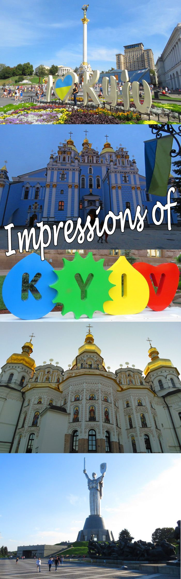 Impressions of Kiev (Kyiv). And comparing it to other