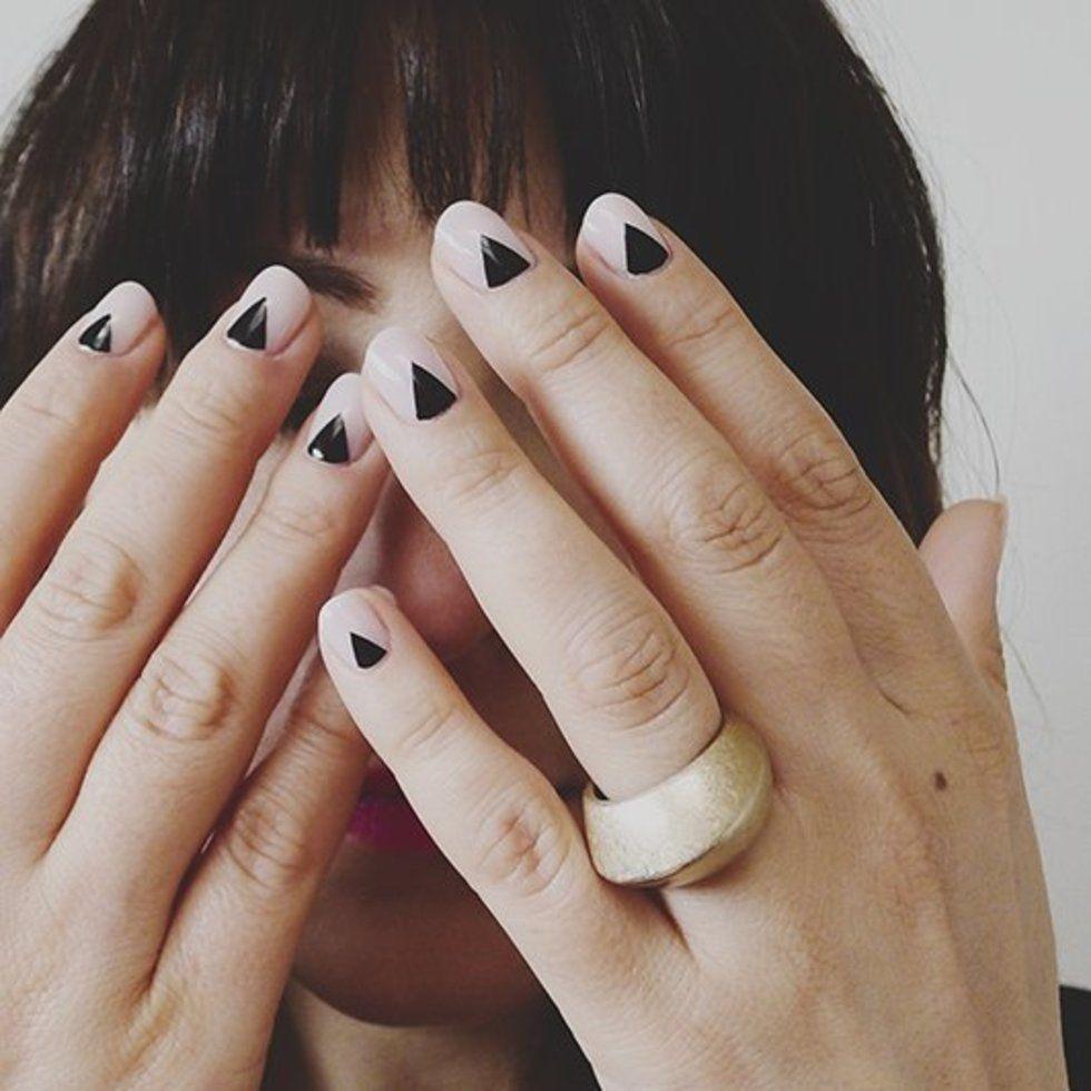 Minimalist nail art: 15 chic upgrades to the classic French manicure |  Stylist Magazine - Minimalist Nail Art: 15 Chic Upgrades To The Classic French