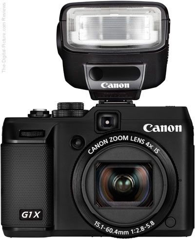 Canon Powershot G1 X Digital Camera With Speedlite 270ex Ii For More Images And Information On Camera Gear Digital Camera Camera Reviews Digital Camera Gear