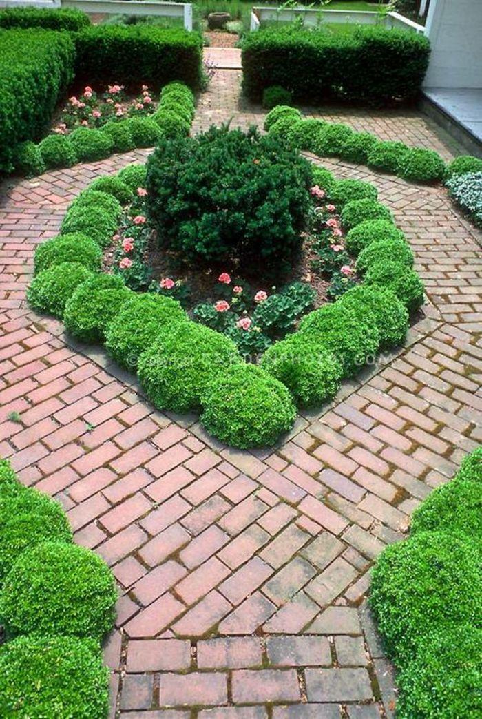 Mein Schöner Garten Gartengestaltung Ideen Gehweg Geformt