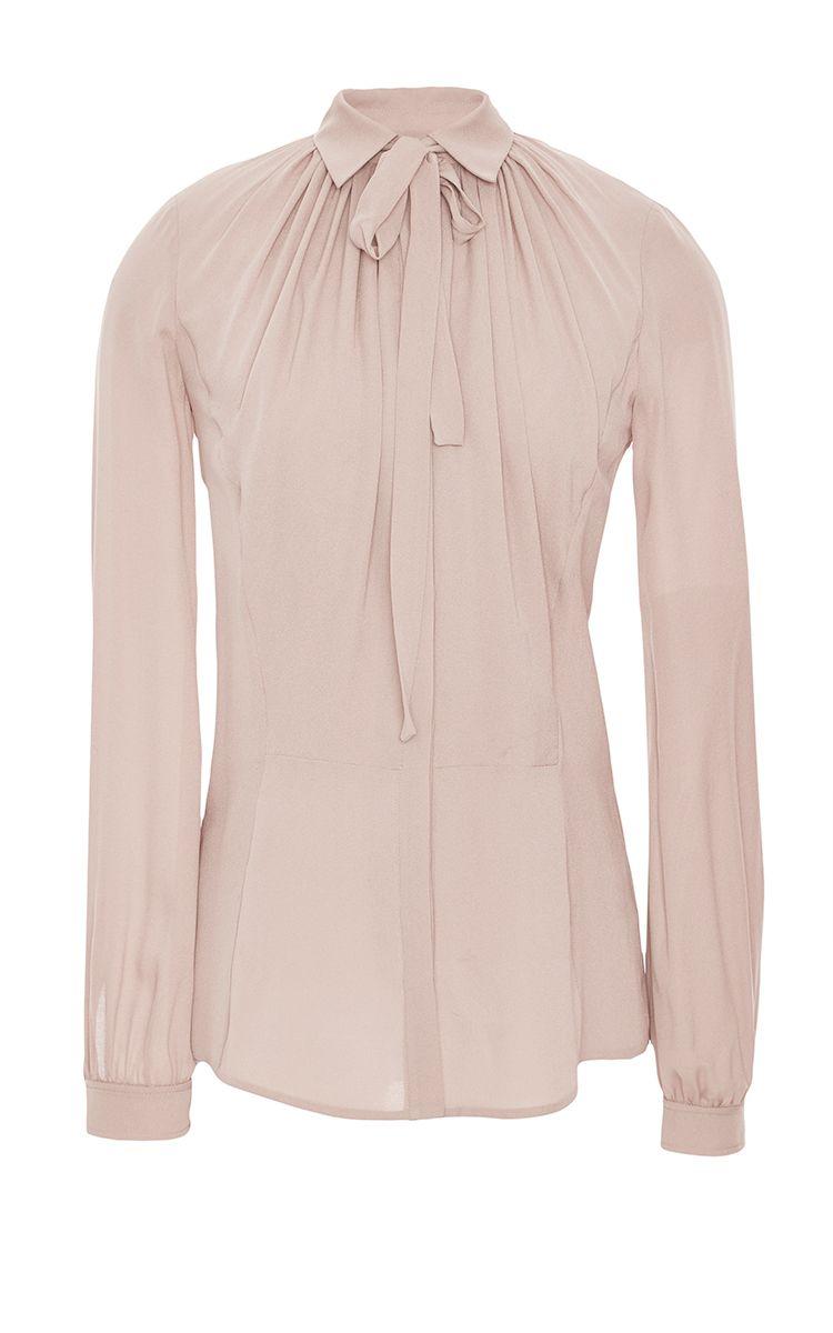 8a50fb76 Silk Georgette & Lace Shirt by Elie Saab for Preorder on Moda Operandi