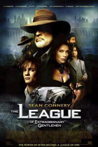 "The League of Extraordinary Gentlemen  (2003):  Sean Connery, ensemble cast.  Early 20th-Century people with special talents are assembled to take down mastermind ""The Fantom"".  Too much CGI and too many plot-holes, but great steampunk/ dieselpunk imagery.  ""You're sweet... and you're young. Neither are traits that I hold in high regard."""