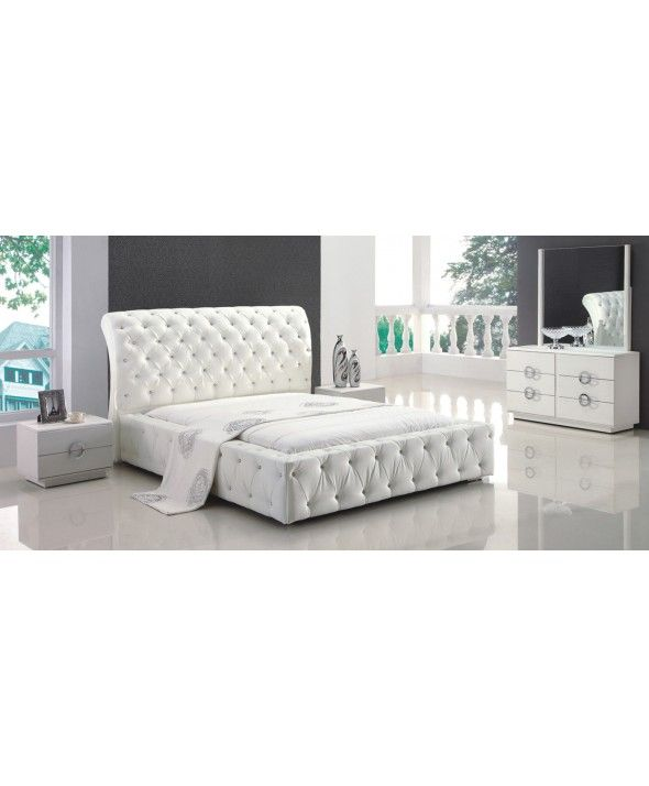 Modern Diva Queen 5 Piece Bedroom Set