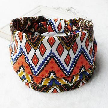 Bohemia BOHO Wide Cotton Stretch Women Headbands