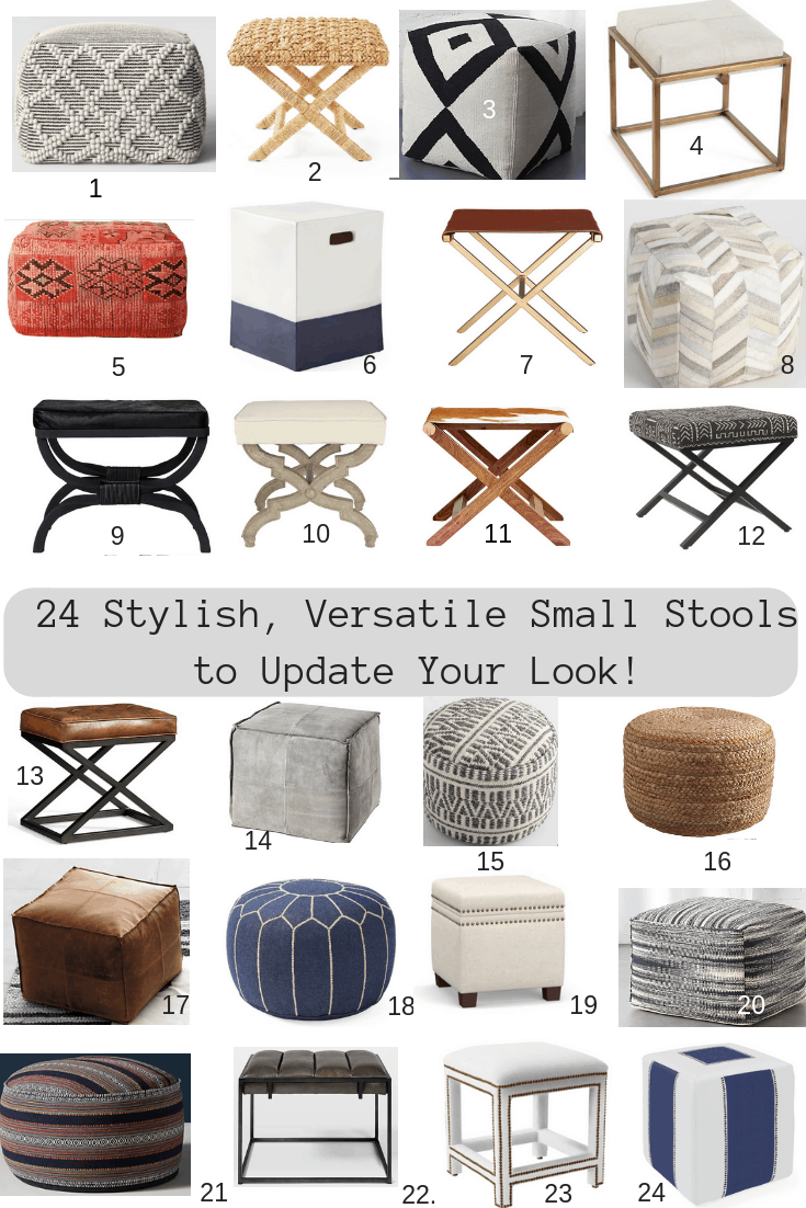24 Small Stools To Update Your Look Classic Casual Home