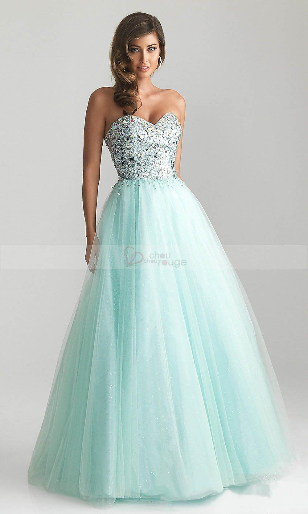 Cute Teal Prom Dresses