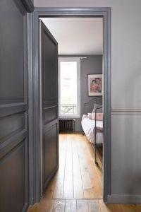 associer le gris clair et le gris foncé | portes | Peinture ...