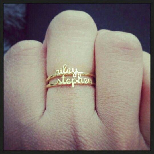 Husband Wife New Model Wedding Ring With Name