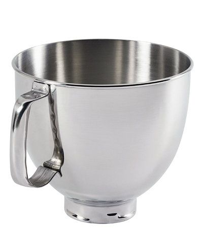Kitchenaid K5thsbp 5 Qt Polished Stainless Steel Stand Mixer Bowl