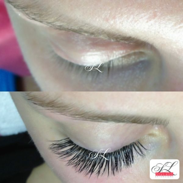 Eyelash extensions suits any colour of your natural lashes ...