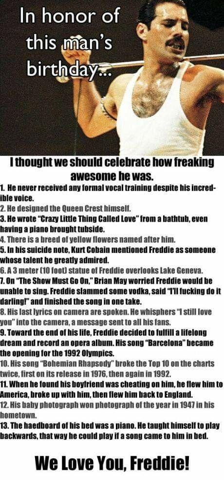 He's just amazing