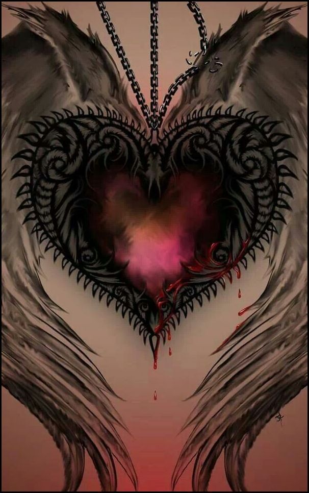 hidden meaning behind the gothic heart tattoostattoo themes idea rh pinterest ca Gothic Tattoos for Men Gothic Love Tattoos