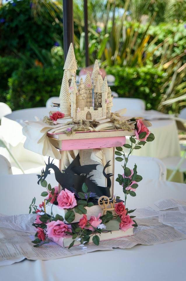 Centerpiece Sleeping Beauty Disney Wedding