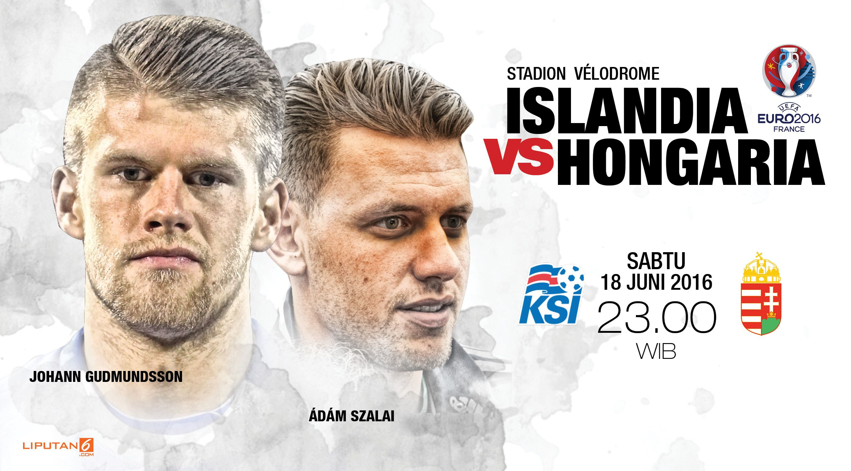 Islandia vs Hongaria design: (Liputan6.com/Abdillah)