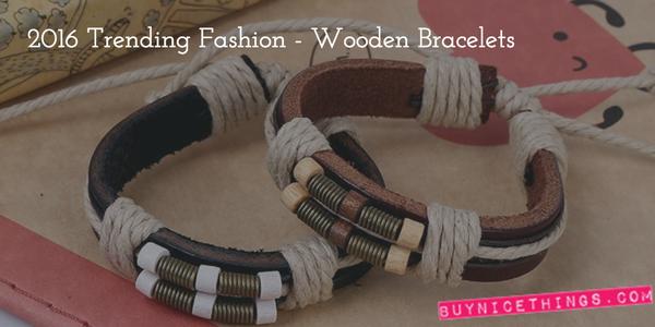 2015 Trending Fashion - Wooden Bracelets