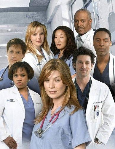 season 1 cast2 - Grey\'s Anatomy Photo (37540284) - Fanpop | тν ...