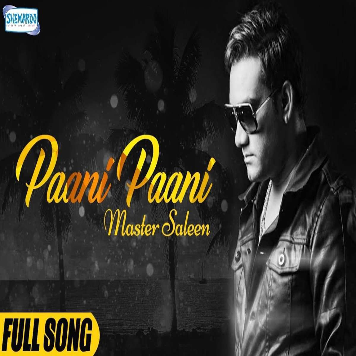 Paani Paani Lyrics Master Saleem New Song Lyrics Wrap