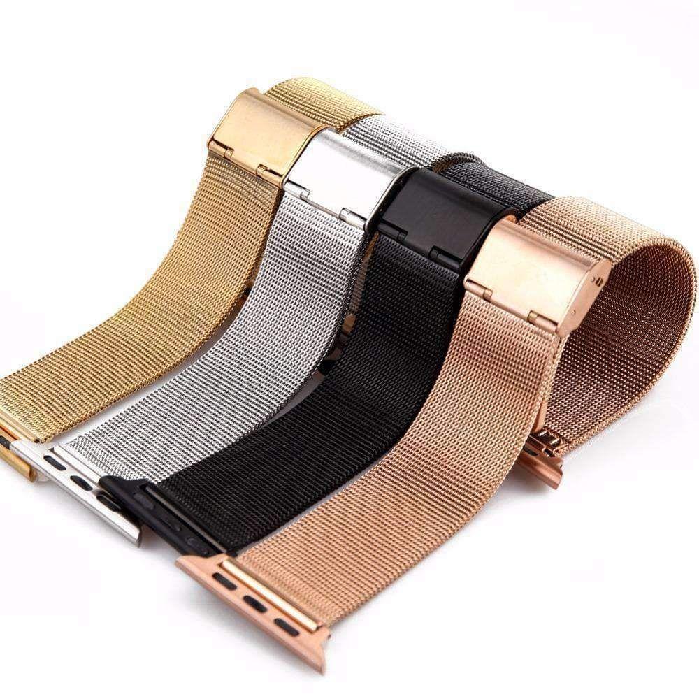 Apple Watch Series 5 4 3 2 Band, Milanese mesh sport Loop