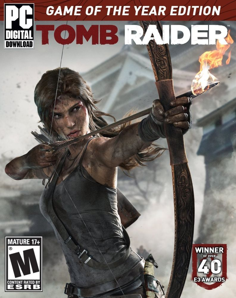 Tomb Raider Game Of The Year Edition Steam Key Tomb Raider Game Tomb Raider Tomb Raider Lara Croft