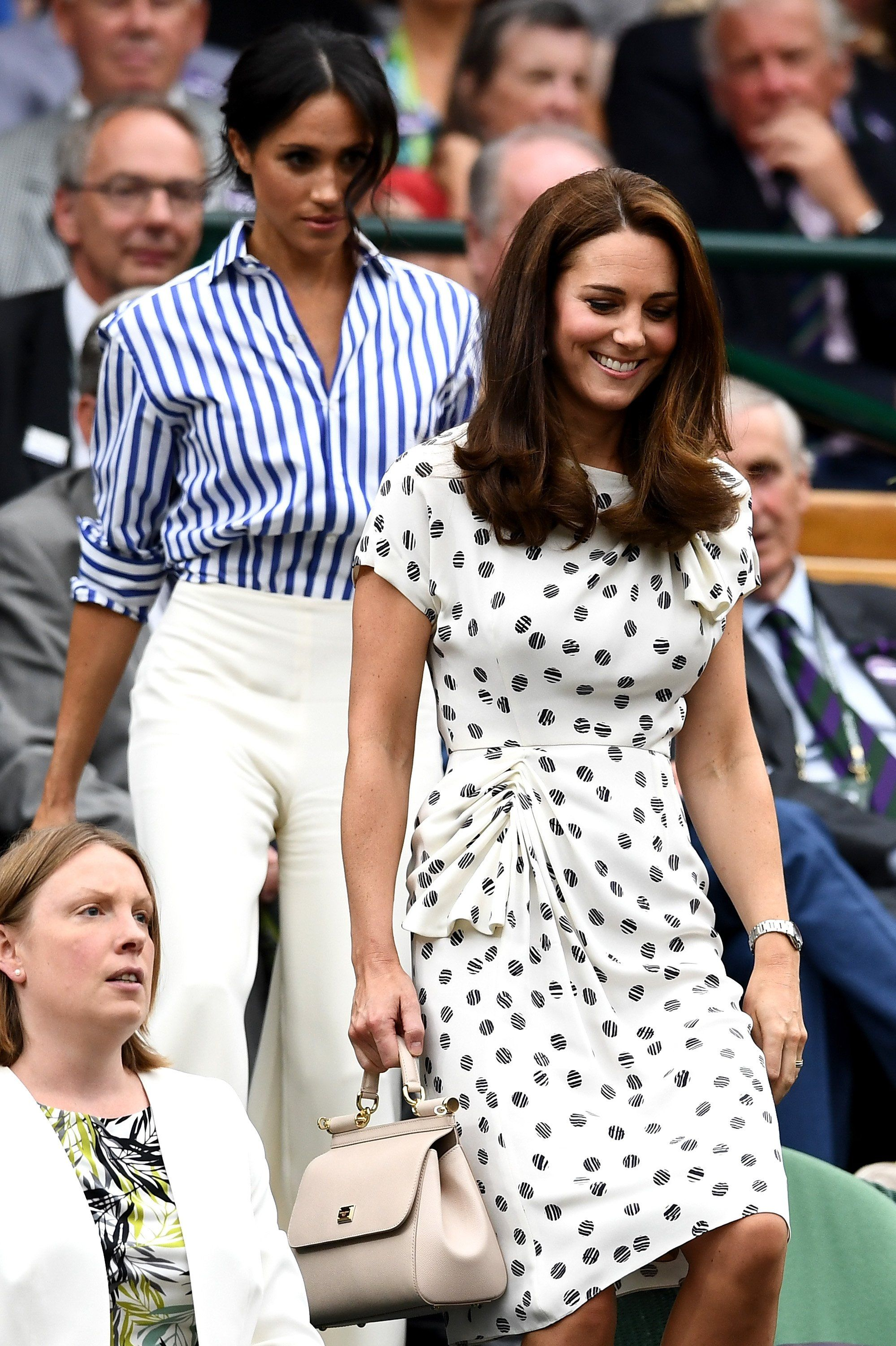 Meghan Markle Found The Preppiest Outfit To Wear At Wimbledon And She Looks Stunning With Images Kate Middleton Outfits Kate Middleton Wimbledon Kate Middleton Dress