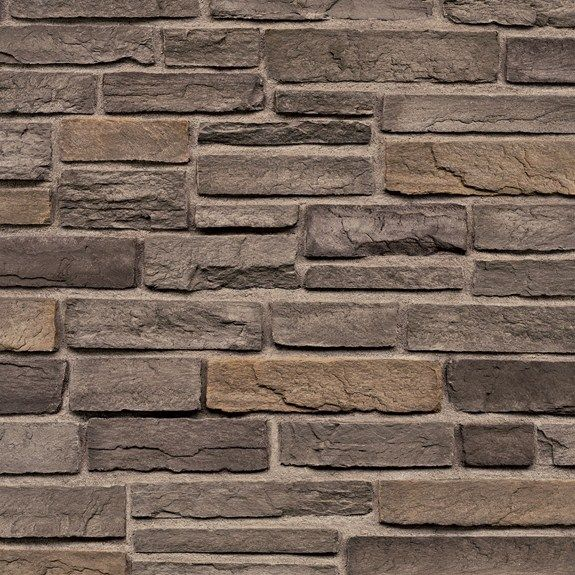 Ps Ls Charcoal Mist Ledgestone Pro Stone Cultured