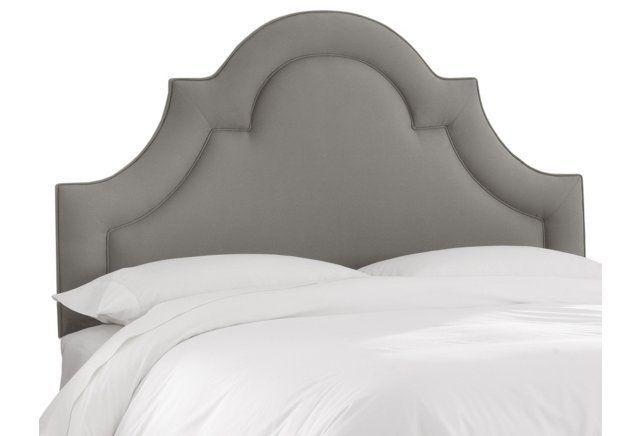 Kennedy Upholstered Headboard, Gray