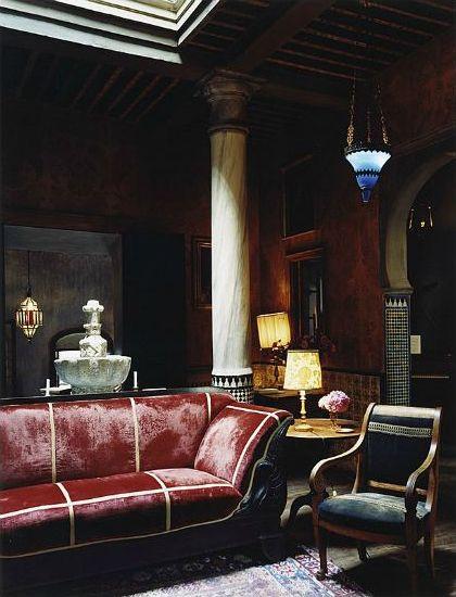 Interior design decoration loft furniture roberto peregalli tangier morocco photo simon watson