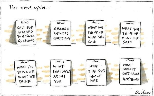 Sunday, August 26, 2012. Illustration: Cathy Wilcox (The Sun Herald)