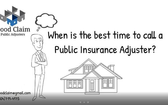Starting Today Through 11 23 When Is The Best Time To Call A Public Insurance Adjuster Public Time Good Things