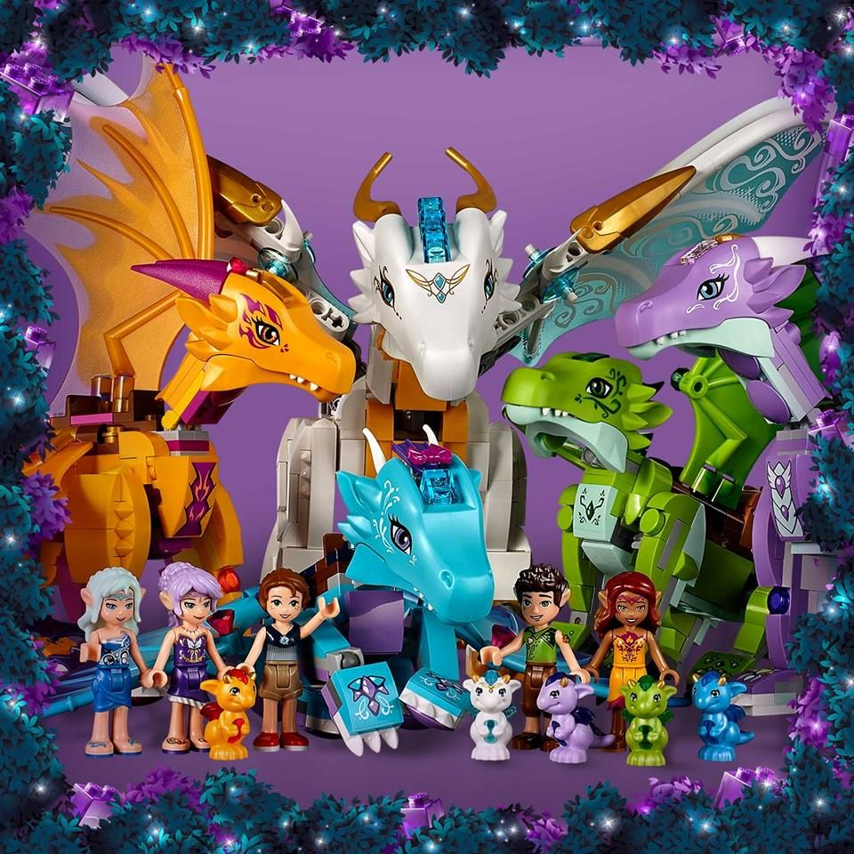 Ausmalbilder Lego Elves Drachen: Greetings To All Magical Folks And Creatures. From Dragons